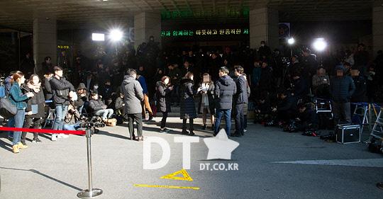 정준영-승리 출석 앞둔 서울지방경찰청 [스타포토]